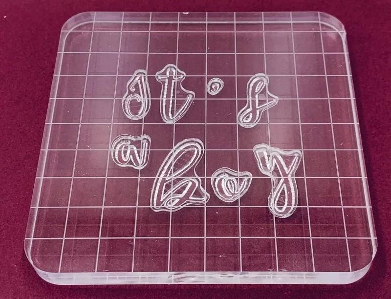 Brand new embosser cake decorating 3pc cookie stamps