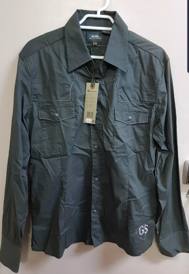 Brand new g star raw rodeo long sleeve shirt size L
