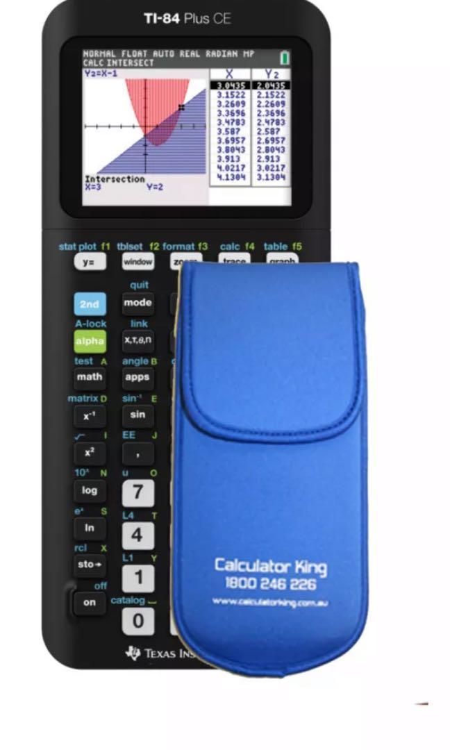 Brand new TI 84 plus CE Colour graphics calculator