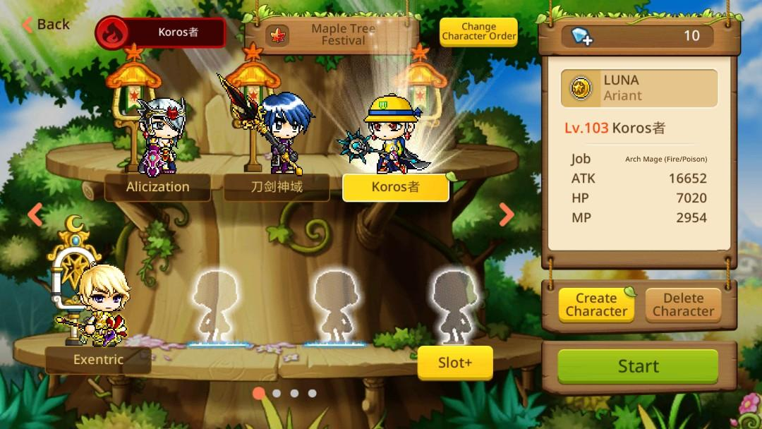 Cheap MapleStory M Account