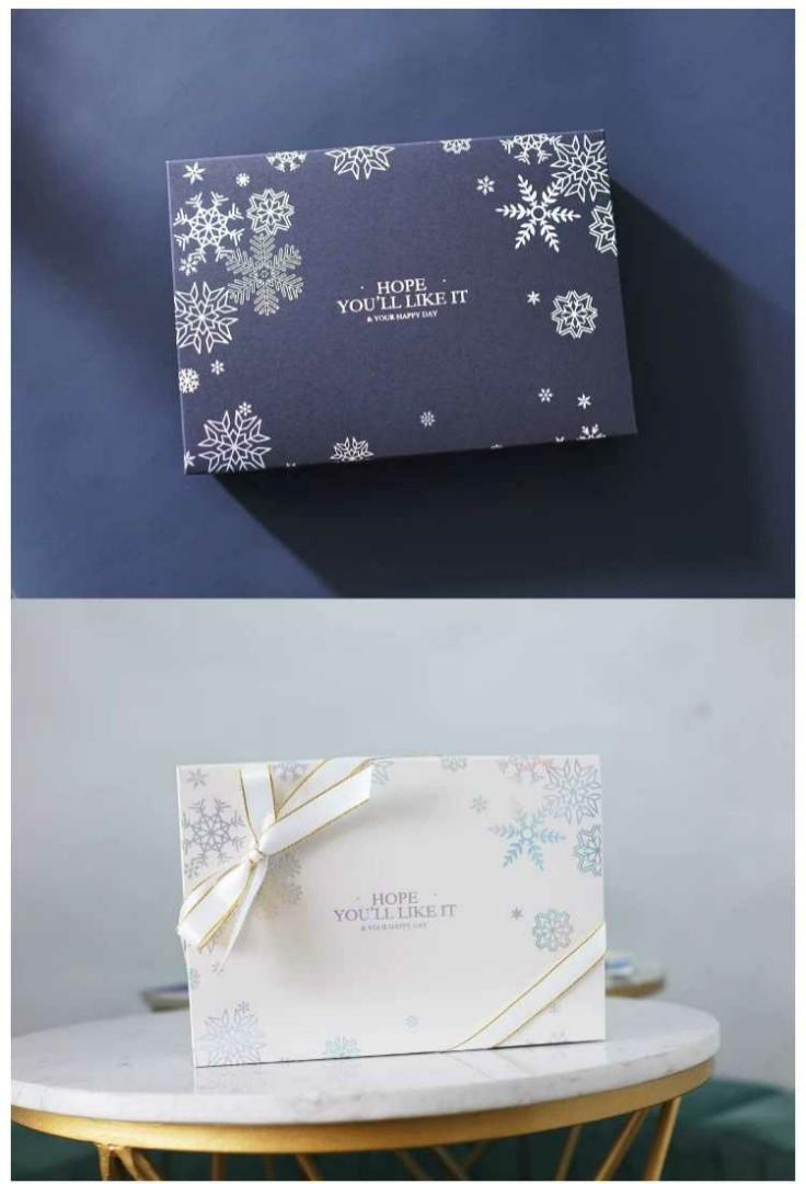 Christmas Gift Box / Cookie Box / Biscuit Box / Pastry  Box