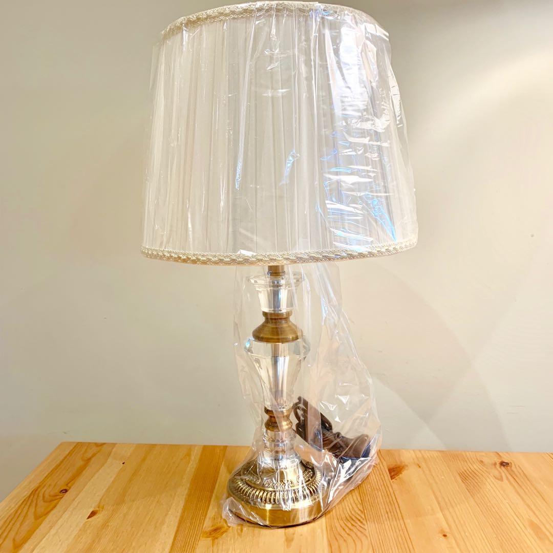 Cream Bedside Lamp