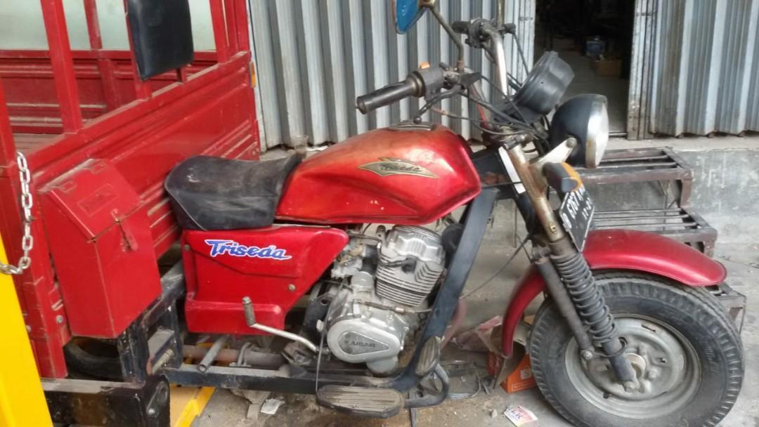 Dijual motor roda 3 merk kaisar