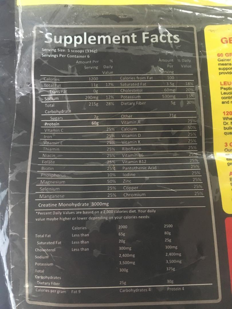 Doctor Nutrition Real Mass Gainer