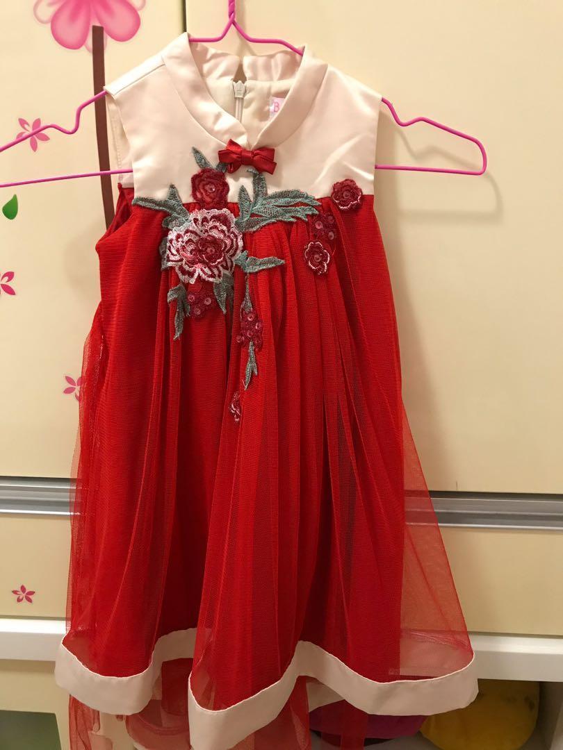 Dress Anak Imlek 3th
