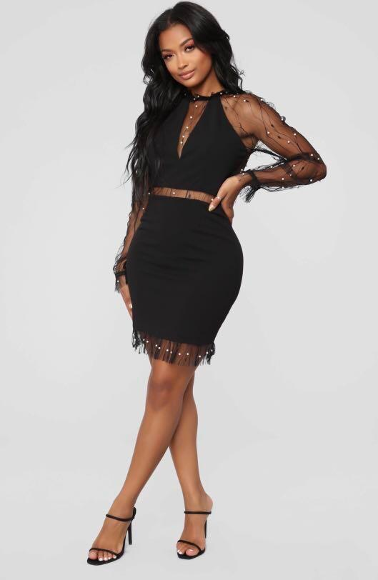 Fashion Nova Don't Give Up Dress
