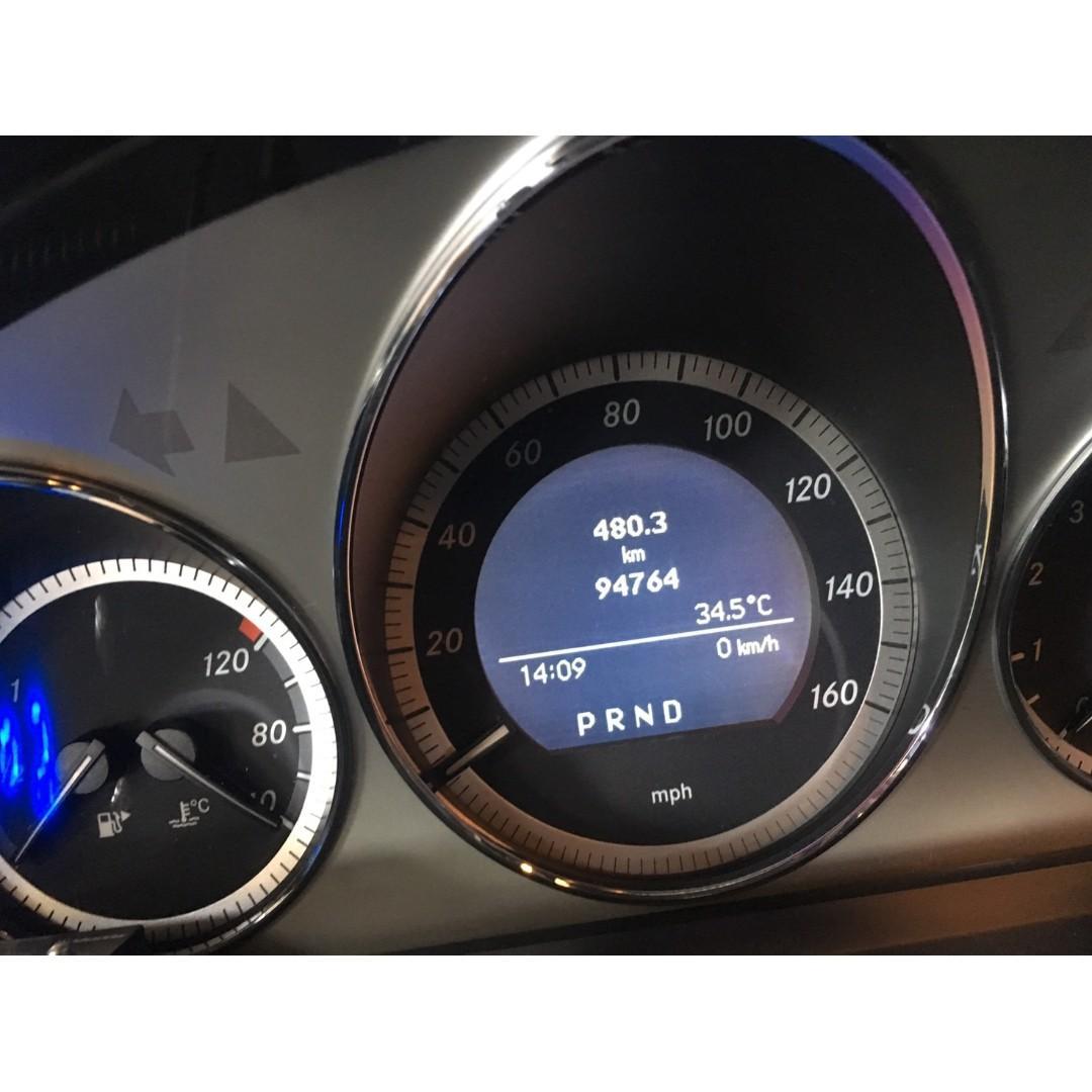【FB搜尋桃園阿承】賓士 超人氣C300跑9萬 2009年 3.0 白色 二手車 中古車
