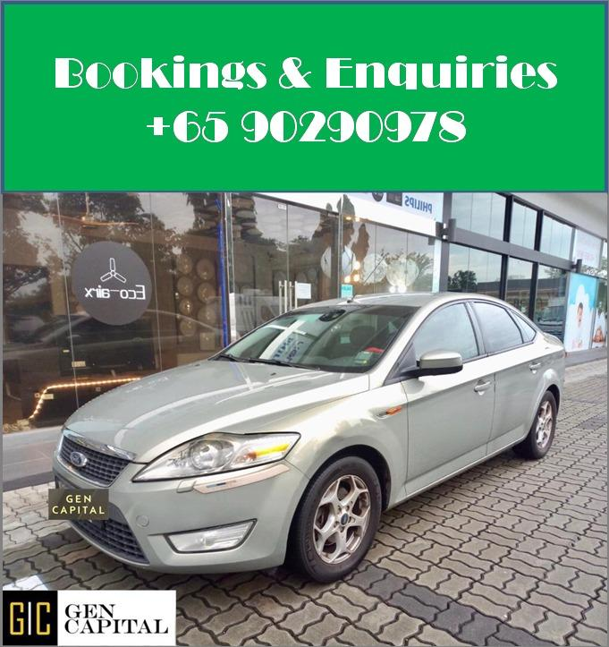 Ford Mondeo 2.3A - Lowest rental rates, with many choices to choose from!