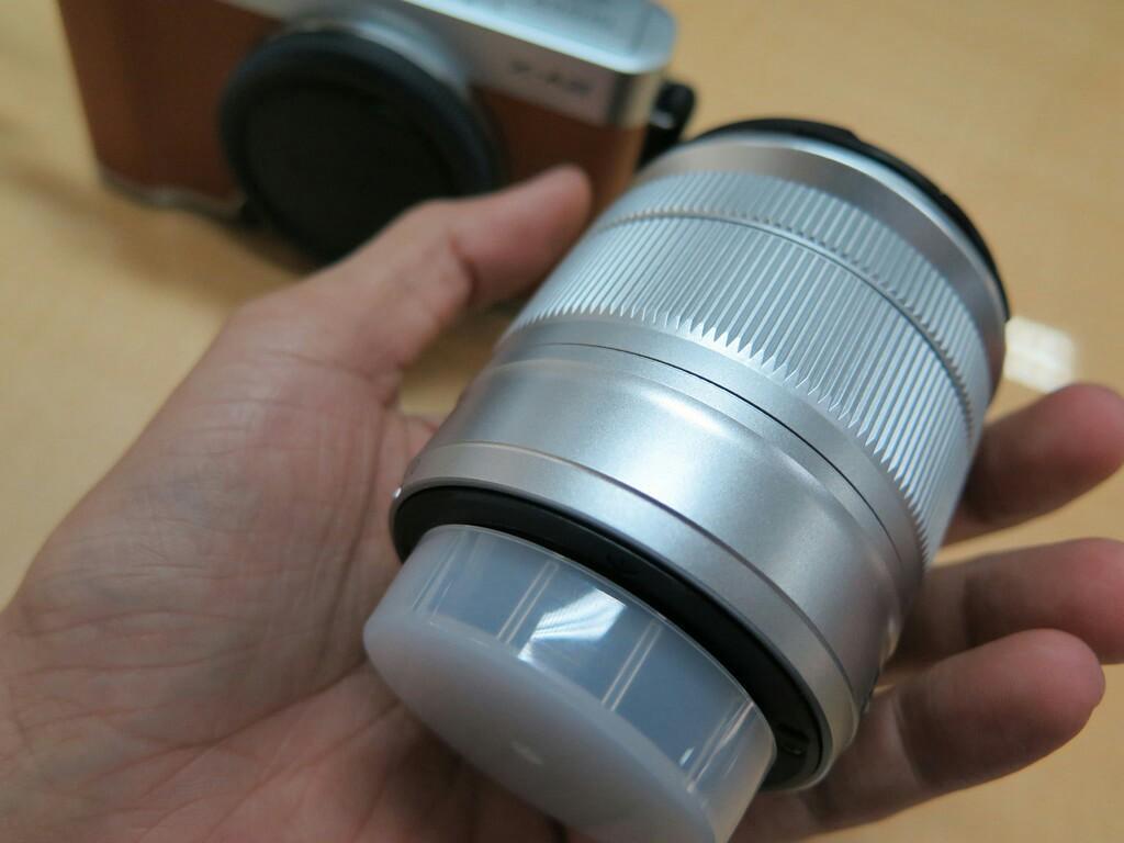 Fujifilm xa2 brown lensa kit fullset