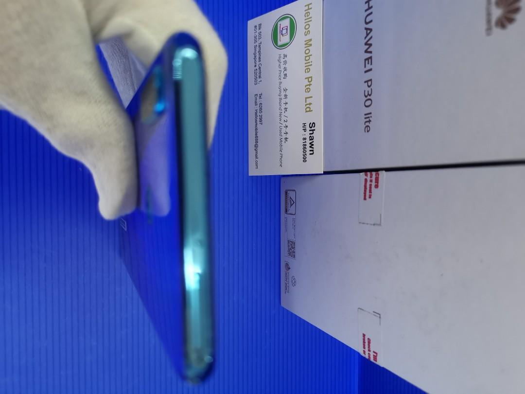 Huawei P30 lite peacock blue(used)