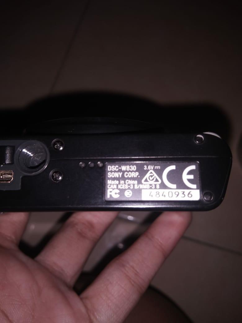 Kamera Sony DSC W-830