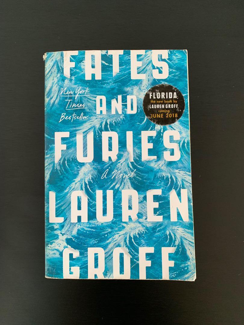 Lauren Groff Fates And Furies Books Stationery Fiction