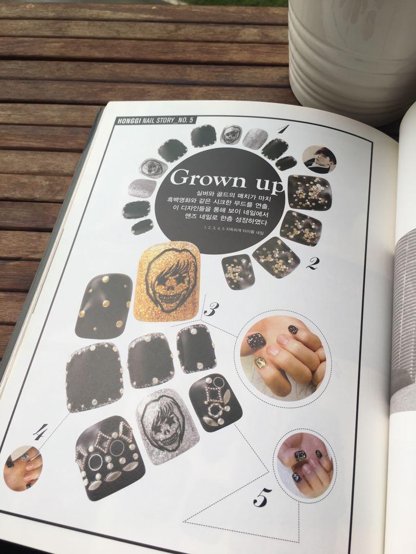 Lee Hong Ki Nail Book (Nail Book + Making DVD) (Normal Edition) #EARNEXTRA