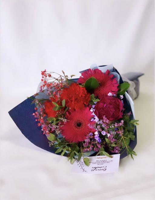 Lilac Carnation Bouquet