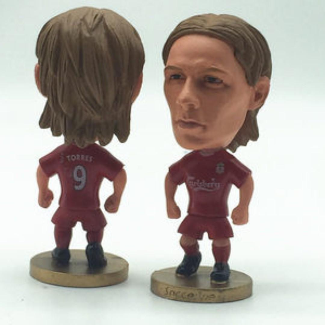 Liverpool Fernando Torres Classic Football Figurine Toy Soccerwe Kodoto