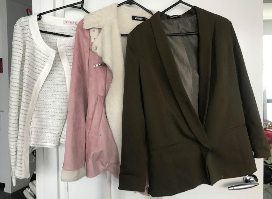 Loads of SZ 6-10 jackets and blazers - designer and affordable brands