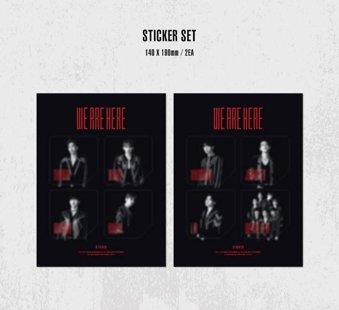 [LOOSE] Monsta X 'We Are Here' In Seoul Kihno Set sharing