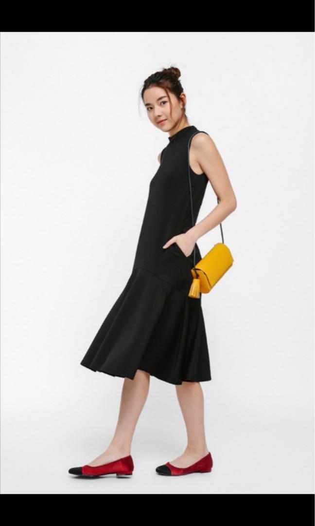 Love Bonito - Kiell Midi Dress #MRTRaffles #MRTTampines