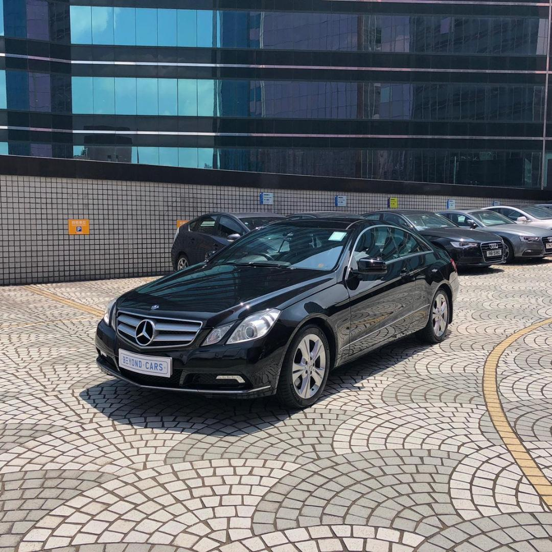 MERCEDES-BENZ E350 COUPE 2010
