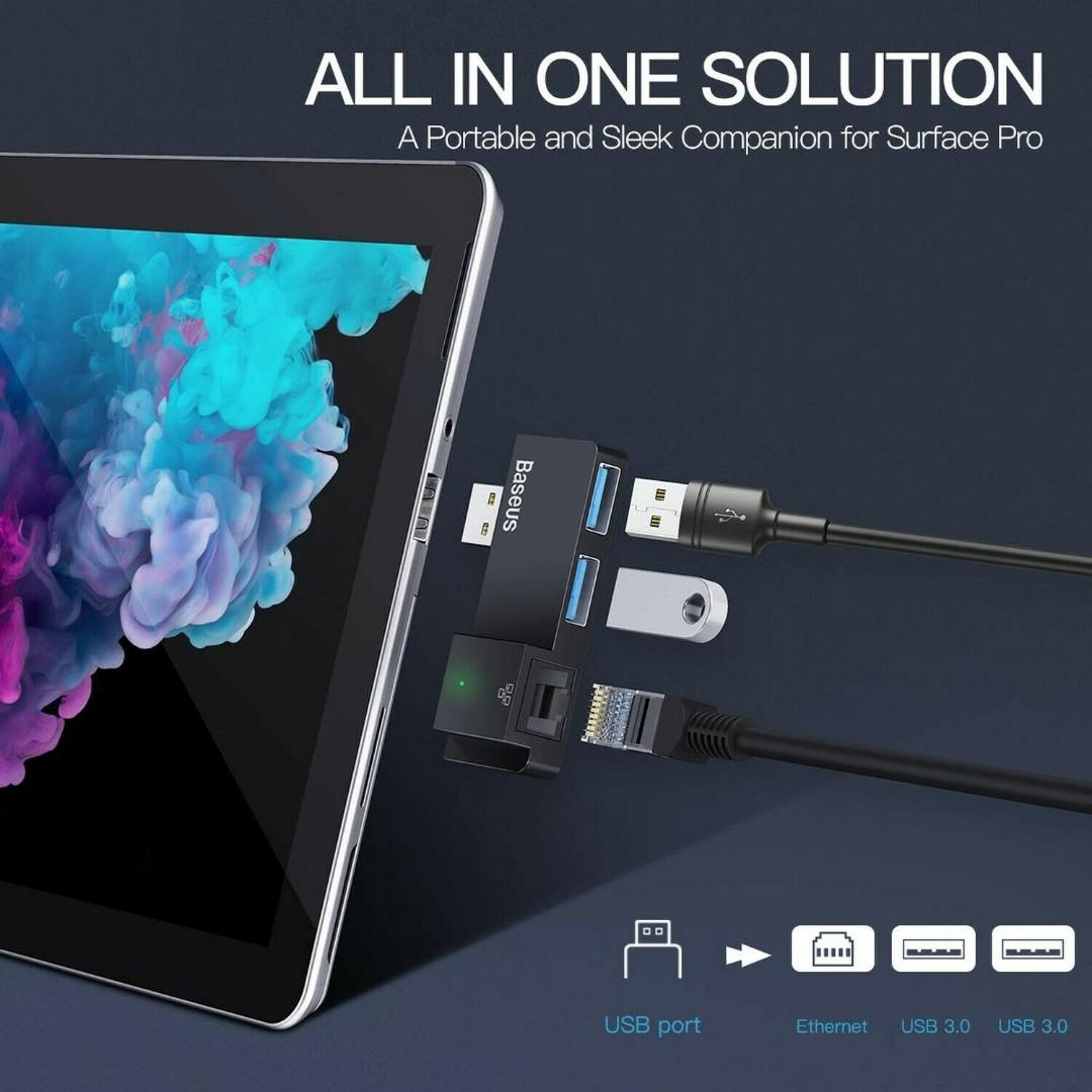 Microsoft Surface Pro USB Hub Adapter Docking Station