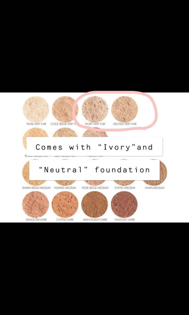 Mineral makeup blush and foundation set by Youngblood