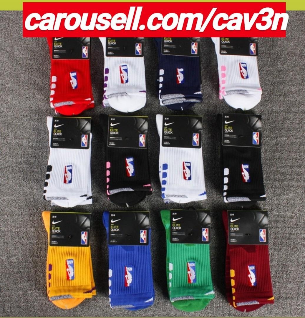 NBA Nike Elite Quick Crew Socks, Sports