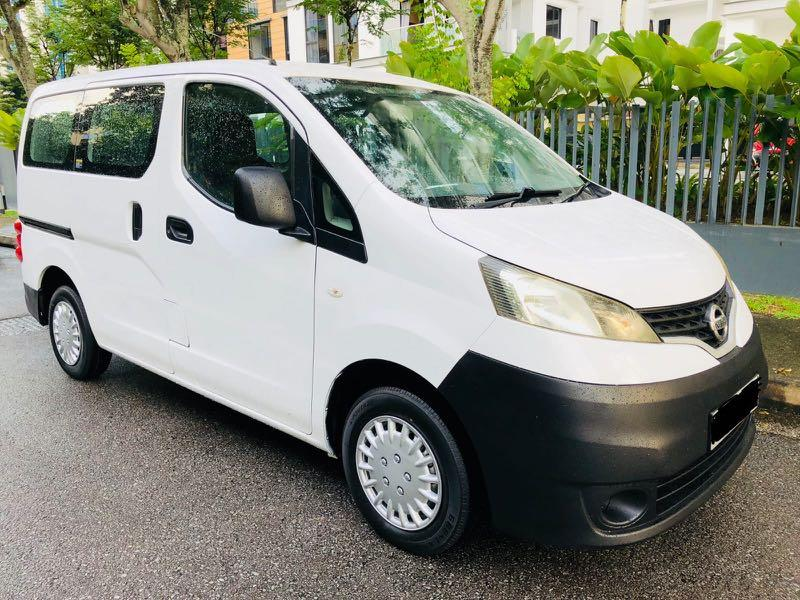 NEW NISSAN NV200 1.6A FOR 3 YEARS RENTAL @ $1,300 PER MONTH!! CALL 9299 4404 NOW!!