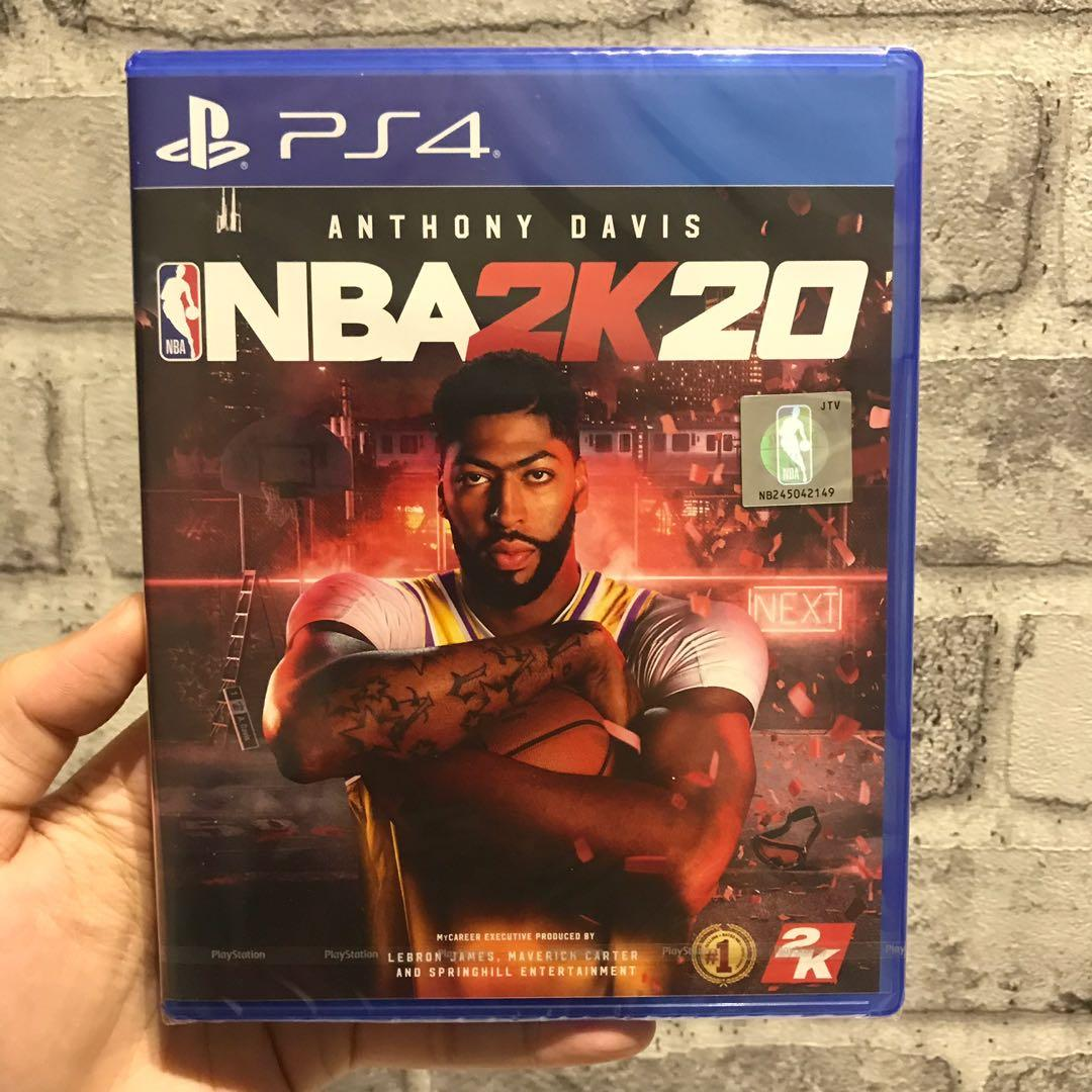 New Ps4 Game Nba2k20 Toys Games Video Gaming Video Games On Carousell