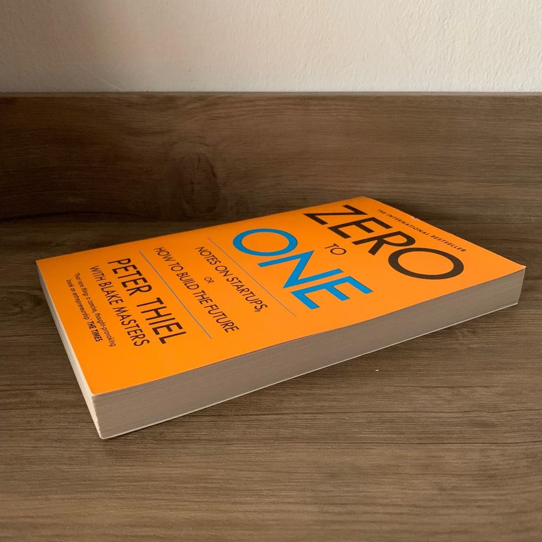 *New* Zero to One - Notes on Startups by Peter Thiel