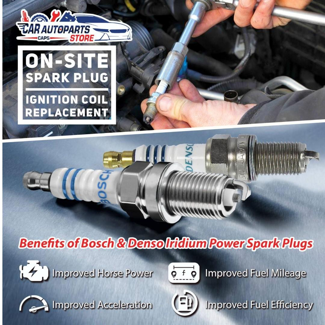 Onsite Spark plug and Ignition Coil Replacement Service