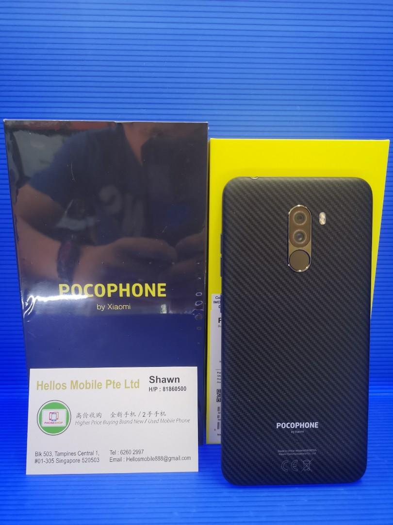 Pocophone F1 128gb(used)