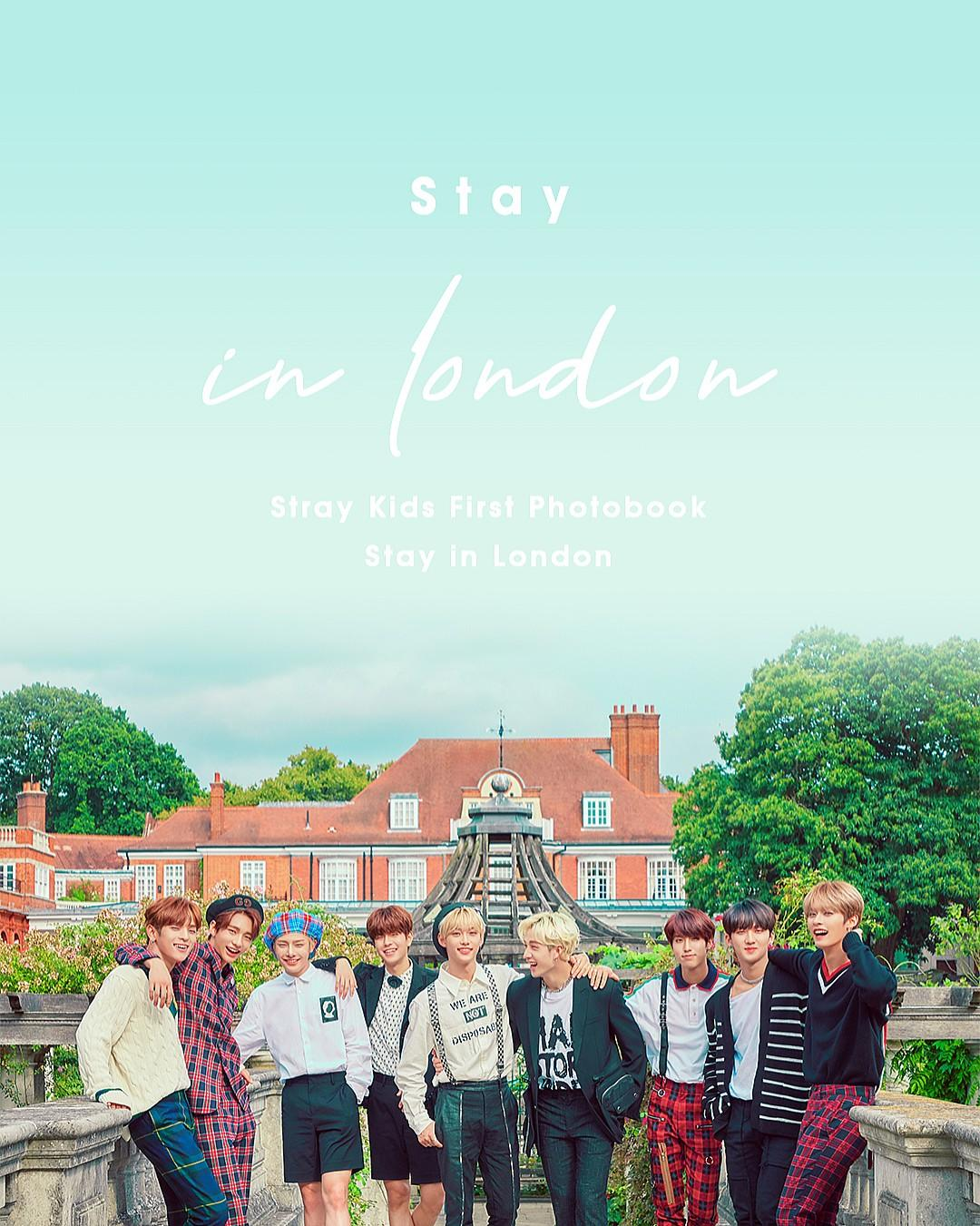 [Pre-Order Loose] Stray Kids 1st Photobook 'Stay in London'