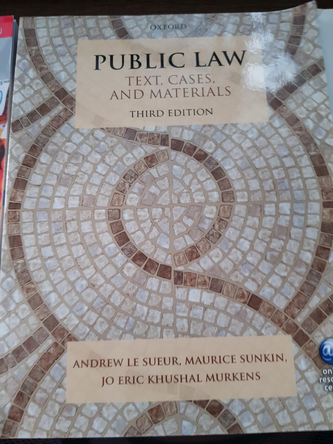 Public Law Third Edition