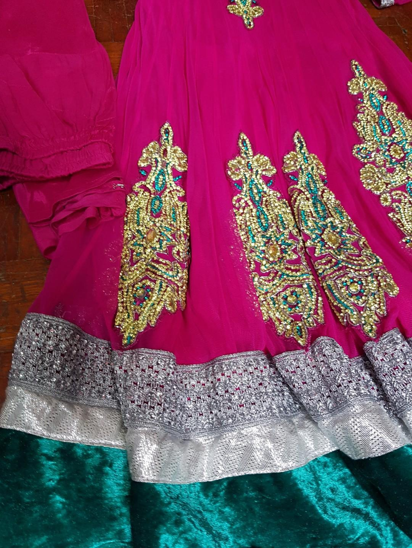 Punjabi Suit anarkali