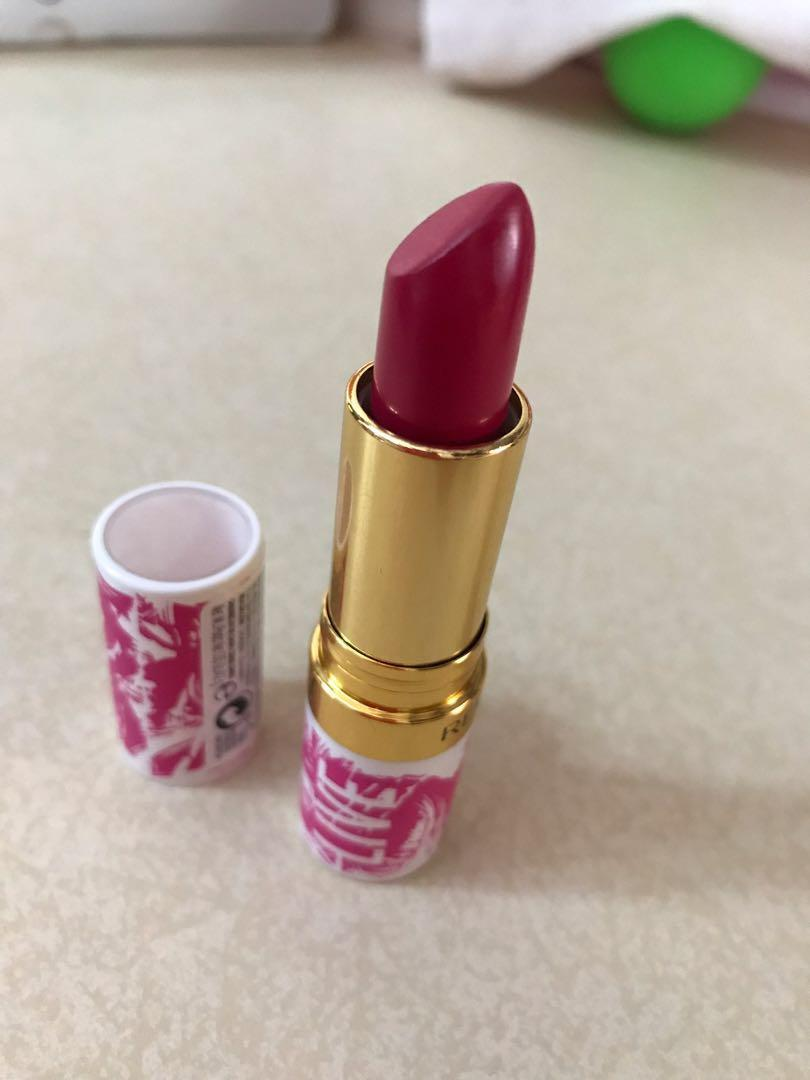 Revlon Super luxurious Live boldly pink lipstick - cherries in the snow