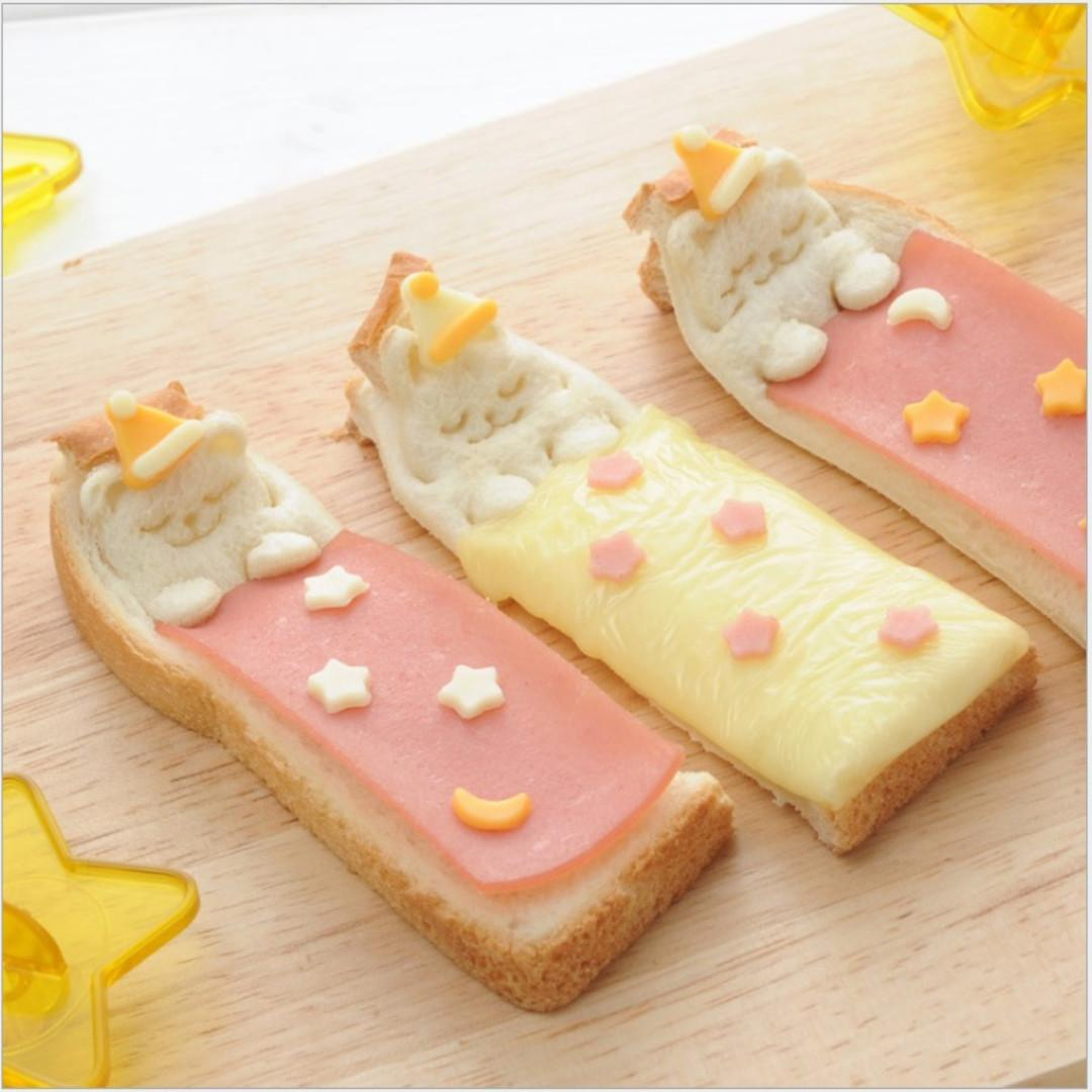 RM045 Sleeping Bear Toast Cutting Kit with Stamps