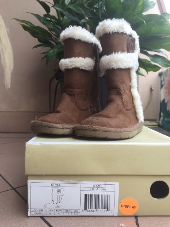 Sepatu Boots anak michael kors Lil Alina - Kids