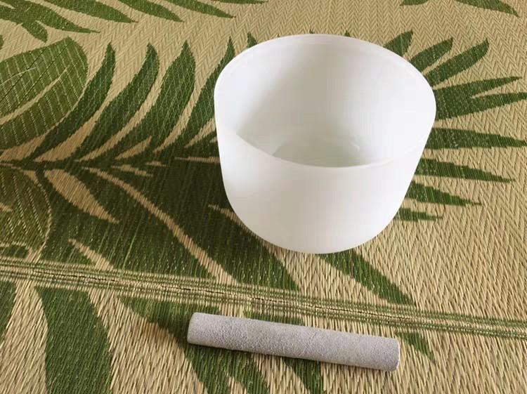 singing bowl 水晶頌缽6-8-10寸/佛音碗/冥想/音療/SPA/水晶音樂碗/打通脈輪(訂制)
