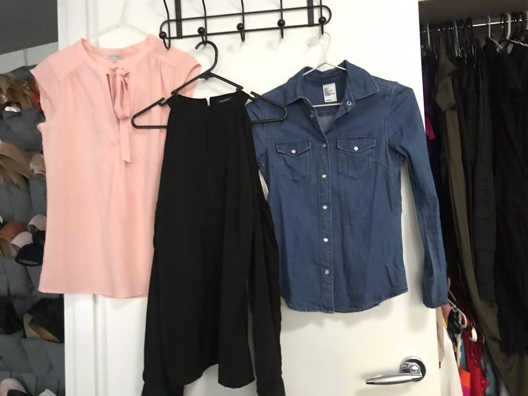 Size 6-10 women's tops - designer and affordable brands