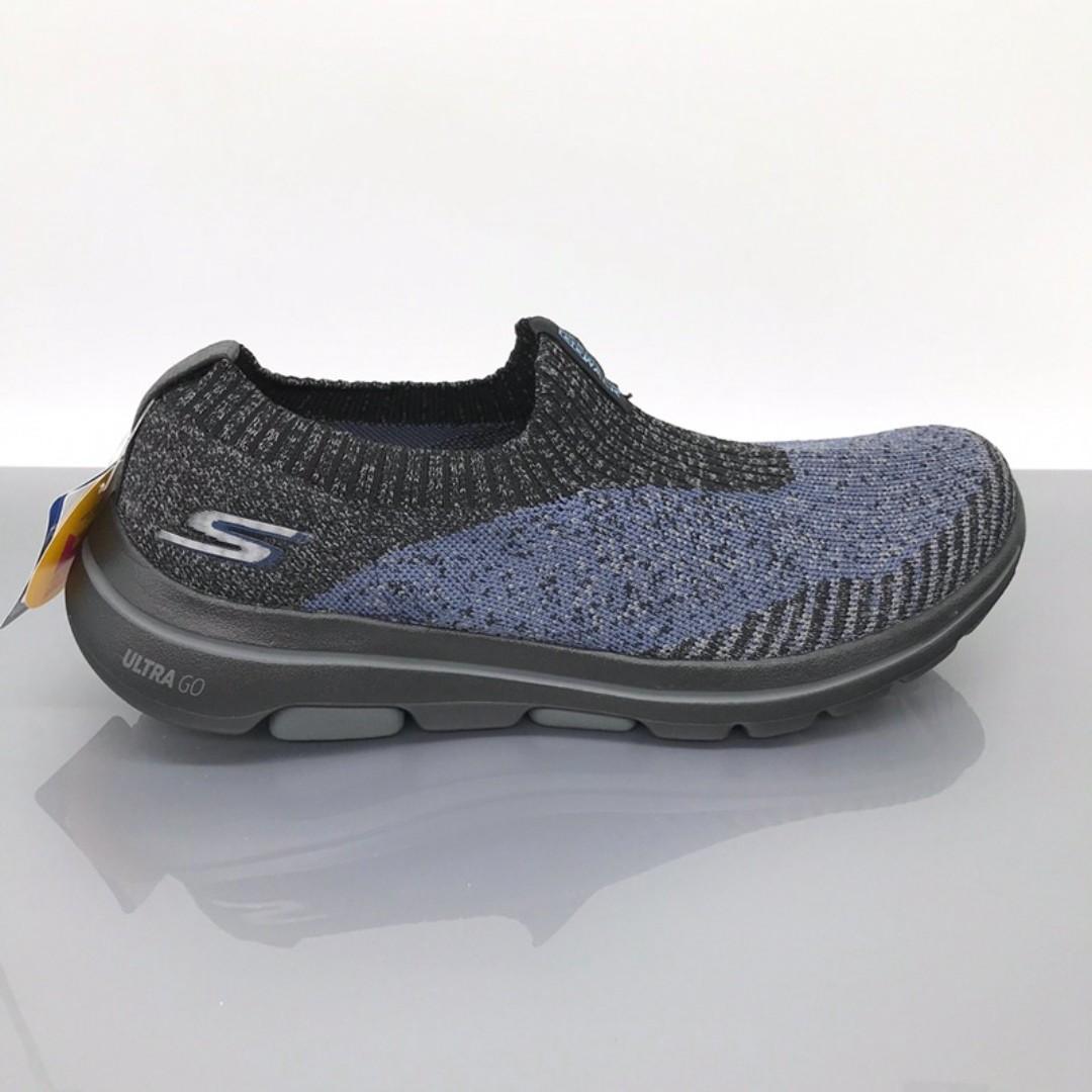 斯凱奇skechers gowalk 減震舒適男鞋運動慢跑鞋一腳蹬套腳鞋