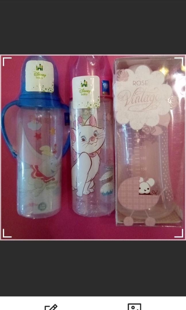 全新。new。$58。西班牙Suavinex,迪士尼disney奶樽奶瓶。超可愛星星蓋。少有。#happykids