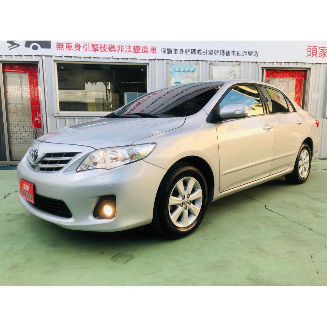 【SUM尼克汽車】2011 Toyota Altis 1.8L