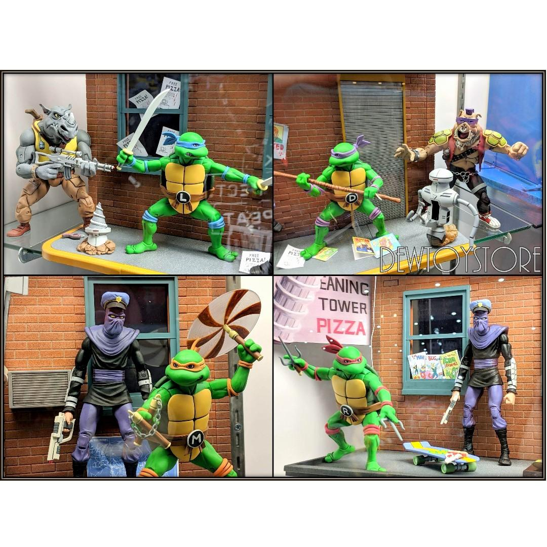 "⭐️<URGENT> [Pre-order] NECA Teenage Mutant Ninja Turtles TMNT 7"" scale Cartoon Series 2 - Foot Soldier Army Builder 2-Pack ⭐️"