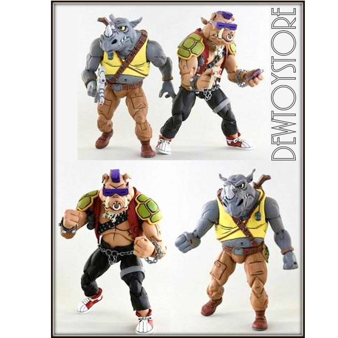 "⭐️<URGENT> [Pre-order] NECA Teenage Mutant Ninja Turtles TMNT 7"" scale Cartoon Series 2 - Rocksteady & Bebop 2-Pack ⭐️"