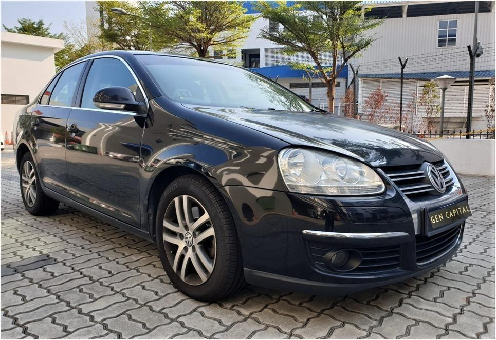 Volkswagen Jetta 1.4A - Cheapest rental in town, full support!