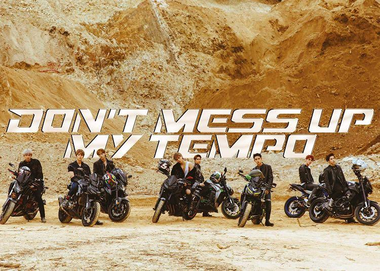 WTS EXO Don't Mess Up My Tempo Moderato Ver. Poster