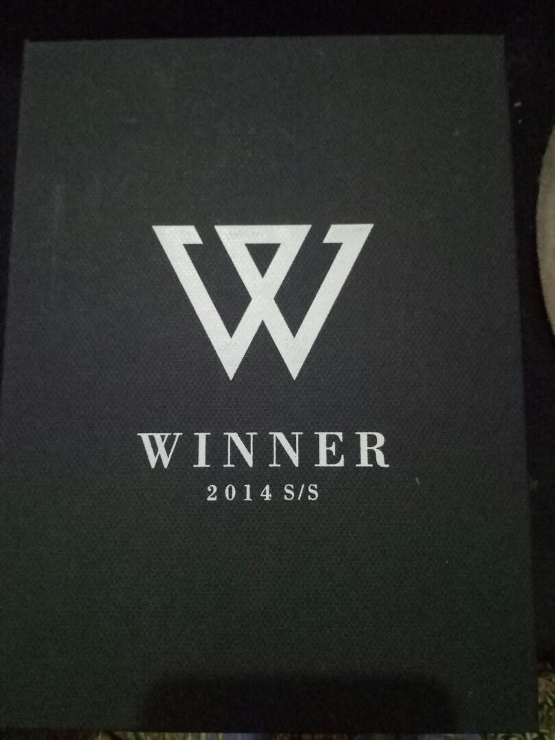 [WTS][INCLUDES POSTAGE]WINNER DEBUT ALBUM -2014 S/S (LAUNCHING EDITION)