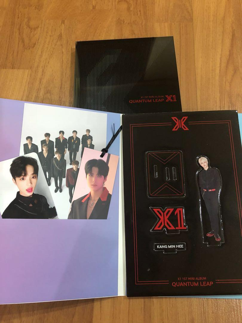 X1 Flash album unsealed version ready stock with poster
