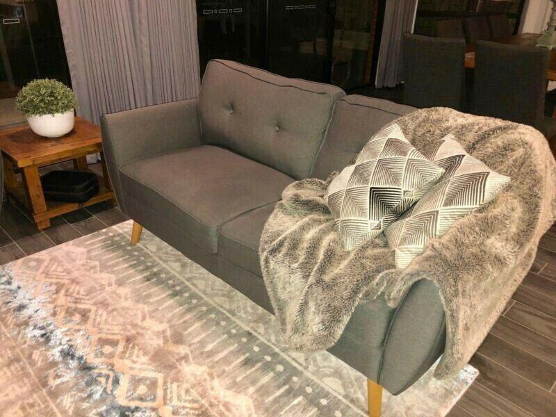 x4 Geometric black/white grey beige cushions pillows Cushion