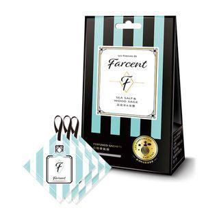 Farcent Seasalt & Wood Sage Perfume Sachets